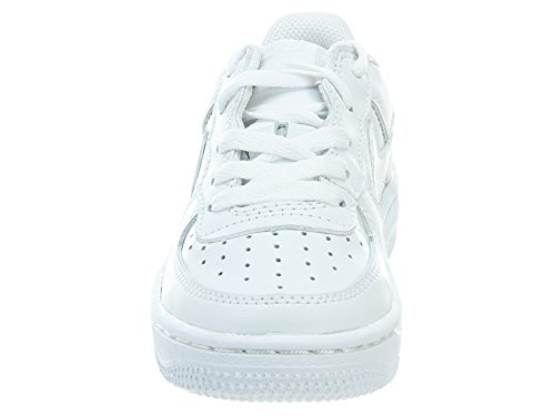 NIKE Little Kids Force 1 Sneakers PS 308936 White/White excellent cheap online Red pre order eastbay sale with credit card qLvQiRm4q