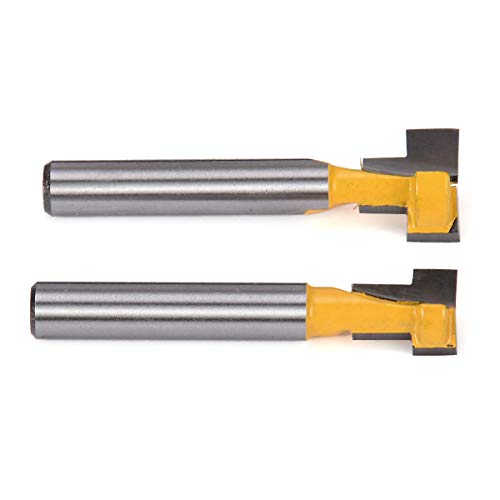 - Electric Router - 2pcs 3/8'' & 1/2'' 1/4'' Shank Trim Wood Bits Straight Woodworking Milling Cutter For Carbide - Natoni