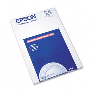 Epson® Ultra Premium Luster Photo Paper PAPER,LSTR,PHTO,SPR-B 16350 (Pack of2)