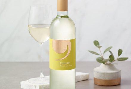 2016 Proverb Pinot Grigio Wine 750mL