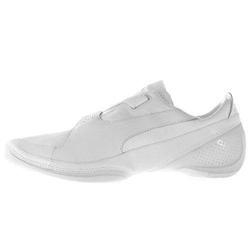 Puma Furio Leather Velcro 30212405Zapatillas de hombre, Blanco