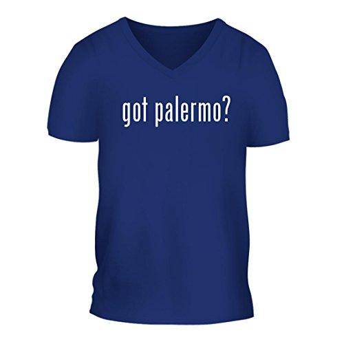 fan products of got palermo? - A Nice Men's Short Sleeve V-Neck T-Shirt Shirt, Blue, Large
