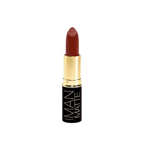 Iman Cosmetics Luxury Matte Lipstick Outlaw