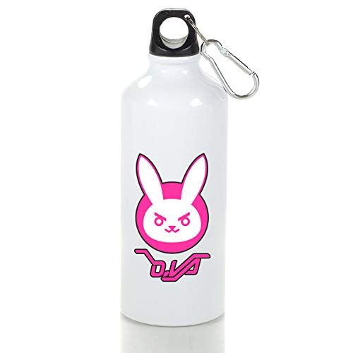 Xxxx Dtjscl D.Va Bunny Aluminum Outdoor Sports Bottle White 29 -
