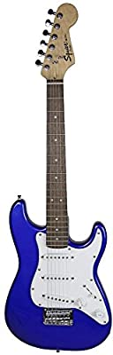 Squier by Fender Mini Strat Electric Guitar - Imperial Blue