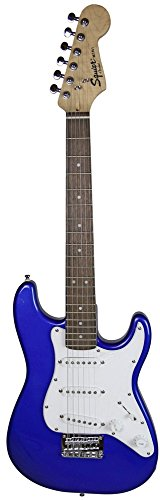 - Squier by Fender Mini Strat Electric Guitar - Imperial Blue