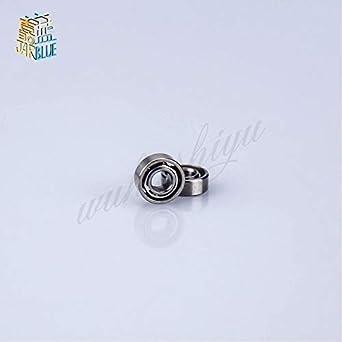 Ochoos 30pcs 681X Miniature Bearings Ball Mini Open Bearing 681X Open 1.5x4x2 1.542mm Iron Cover 681Xzz 1.5x4x1.2mm 1.541.2mm Diameter: Open 1.5x4x1.2mm