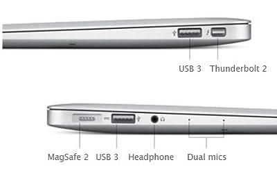 New Apple MacBook Air MJVM2LL/A 11.6-Inch laptop (Core i5 1.6GHz, 4GB RAM, 128GB SSD, Mac OS X El Capitan) NEWEST VERSION
