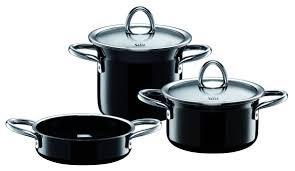 Silit Passion 5 Piece Cookware Set Color: Black