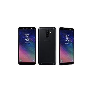 "SAMSUNG GALAXY A6 (2018) SM-A600GN/DS DUAL SIM 5.6"" HD+ 32 GB 3 GB RAM Octa-Core 1.6Ghz, 4G LTE 16MP Front Camera + Led Flash -Fingerprint -Factory Unlocked -International Version -No Warranty (Black)"