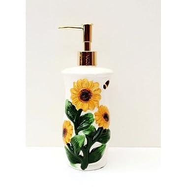 Tuscany 3D Sunflower Soap Dispenser