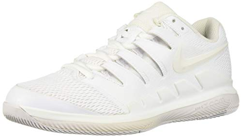 Nike Womens Zoom Vapor X Tennis Shoes (9 B US, White/White-vast Grey) (Ladies Tennis Shoes Jordans)