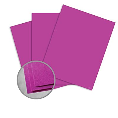 Astrobrights Planetary Purple Paper - 8 1/2 x 11 in 60 lb Text Smooth 30% Recycled 500 per Ream