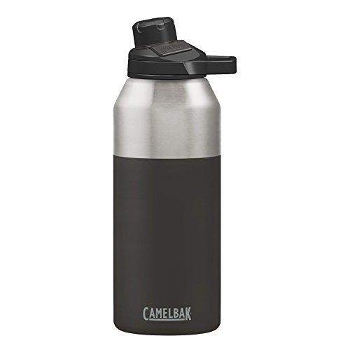 CamelBak Chute Mag Stainless Water Bottle, 40oz, Jet (Camelbak Bottle Insulated)