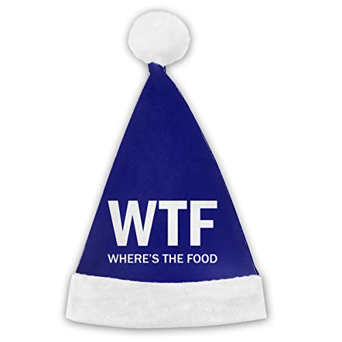 (WTF - Where's The Food Unisex Polyester Childrens Adults Parties Christmas)