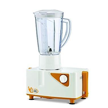 Bajaj Neo JX4 450-Watt Juicer Mixer Grinder with 2 Jars (White/Orange) 8