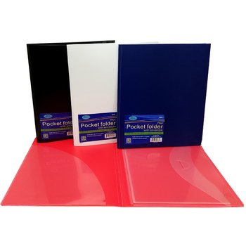 (DDI 2275116 Folder with Lock Envelope and Pocket Case of 48)