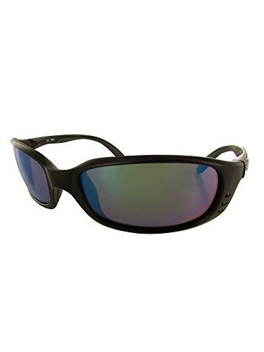 96b3994cdbbf Costa Del Mar Brine Sunglasses, Black, Green Mirror 580G Lens
