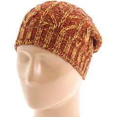 Marc By Marc Jacobs Pumpkin Spice Marled Wool Blend 'Aran' Hat