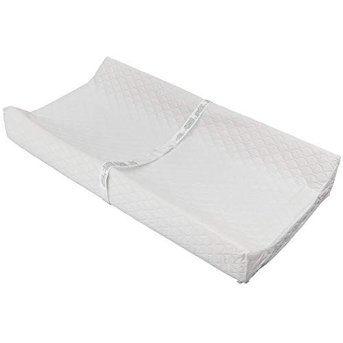 Waterproof Baby and Infant Diaper Changing Pad, ComforPedic from Beautyrest, White