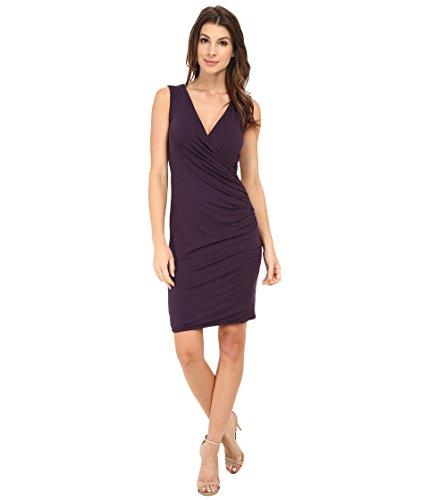Michael Stars Women's Exclusive Sleeveless Surplice Dress Gypsy Dress LG (US 8-10) - Exclusive Sleeveless Dress