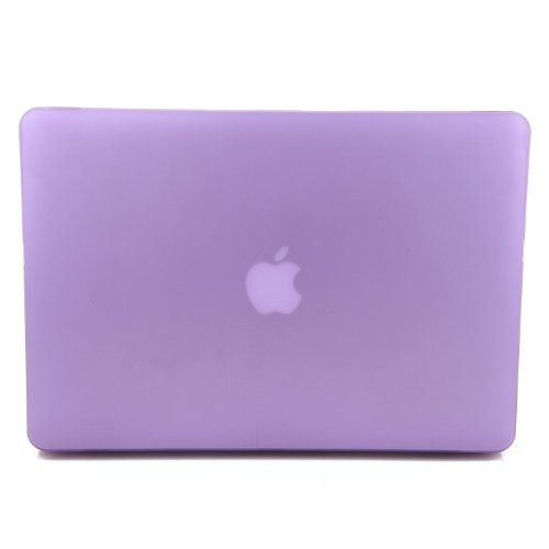 Cush Cases - New Macbook (April 2015 Release) 12-inch Hard Shell Case for MacBook - LAVENDER (Fits Model #s MF855LL/A , MK4M2LL/A , MK4N2LL/A , MF865LL/A , MJY32LL/A , MJY42LL/A)