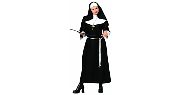 Amazon.com: Rubies Adult Complete Nun Costume: Clothing