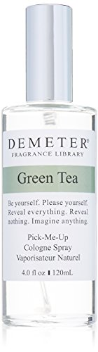 Demeter Unisex Cologne Spray, Green Tea, 4 Ounce