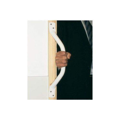ARC GB1700-WH Cranked 18-Inch Grab Bar, White delicate