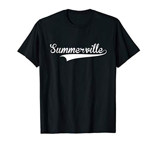 SUMMERVILLE Baseball Styled Jersey Tee Shirt Softball ()