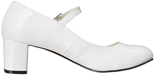 Funtasma SCHOOLGIRL-50 - Zapatos con tacón para mujer Blanco (Wht Pat)