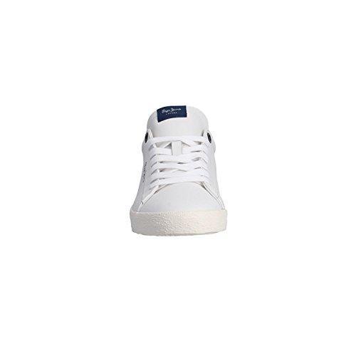 BASKETSS Jeans PMS30435 800WHITE Pepe Blanc r45wqBrx