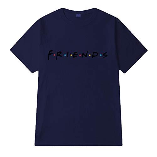 Rond Haut Col T Femme Color Été Friends Élégant Manches Loisirs shirt Casual Courtes Tee Imprimé Top 11 shirt Fvq84
