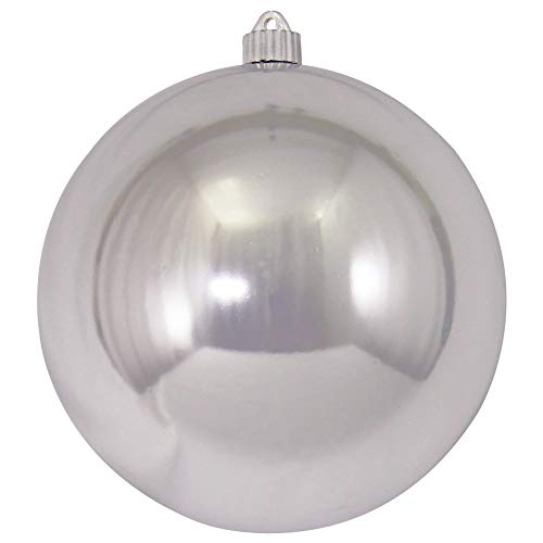 Christmas by Krebs KBX14006 Shatterproof Christmas Ball Ornament, 8-Inch, Looking Glass