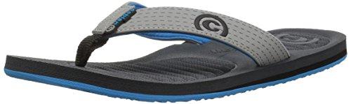 Cobian Men's Hydro Pod Flip-Flop, Blue, 12 M US