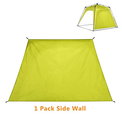 Mobihome Sunwall for Instant Canopy Shade Tent 8.2′ X 8.2′, Detachable Flap Sun Shade Side Wall Accessory to Block Sun, Wind, and Rain, 1 Pack Sidewall Only