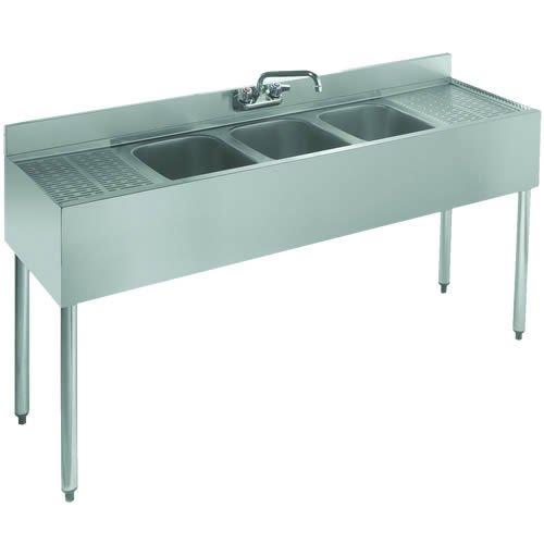 Krowne Royal Three Compartment Bar Sink
