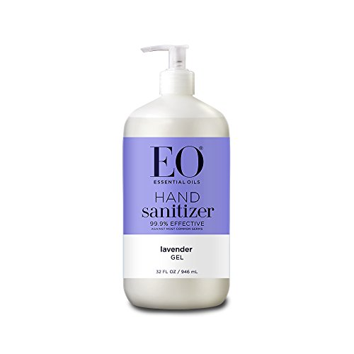 (EO Botanical Hand Sanitizer Gel, French Lavender, 32 Ounce)