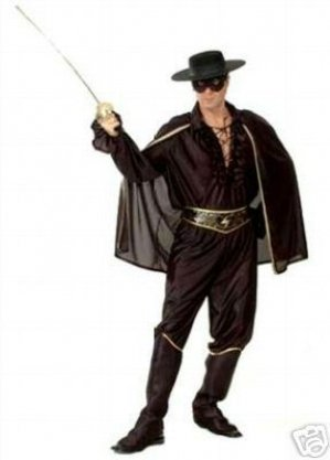 Men's Zorro Bandit Costume ()