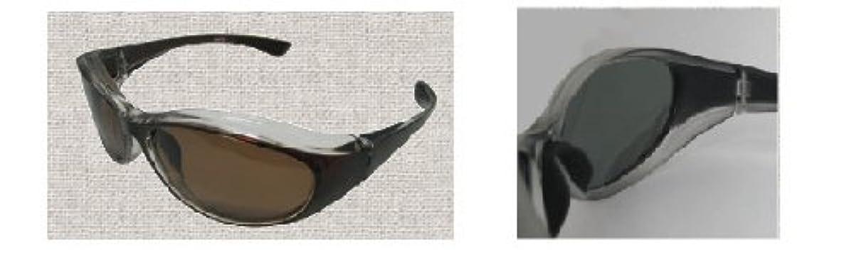 [해외] [스피드 피트] 썬글라스 COZY/코지 UV 편광 브라운 CZ-S2 / 브라운 / CZ-S2