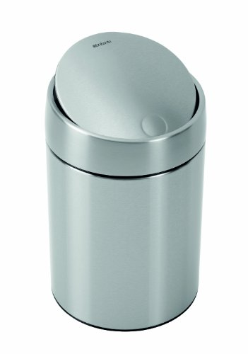 Brabantia Slide Bin – Fingerprint Proof - 5 litre by Brabantia