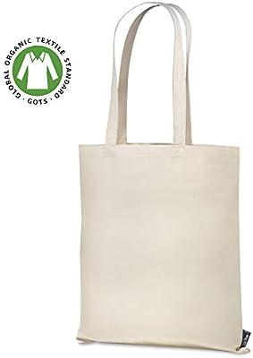 Santa Perago – Bolsa de Yute de algodón orgánico de 140 g/m2 – Bolsa de Tela para Pintar, Naturaleza: Amazon.es: Hogar