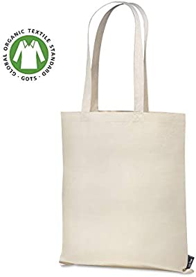 Santa Perago – Bolsa de Yute de algodón orgánico de 140 g/m2 ...