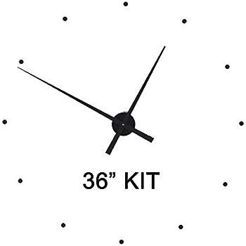 Amazon Com Make Large 36 Quot Wall Clock W 17 5 Quot Hands Home