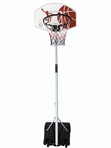 Movement God Youth Portable Basketball System-White/Black