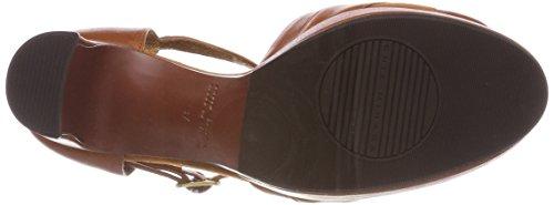 Chie Mihara Tash32, Sandali con Cinturino Alla Caviglia Donna Braun (Ante Biscuit-taichi Cognac)