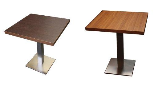 Tischplatte Tisch Platte Teak Wenge 80x80 Beidseitig Neu: Amazon.de:  Baumarkt