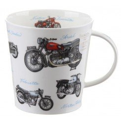 1 VINCENT BLACKSHADOW Motorbike Fine Bone china mug
