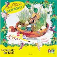 Wee Enchanted Garden Kit - Comes with planter, paints, cottage & more!