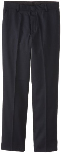 Calvin Klein Big Boys Dress Pant , Navy Blue, 10 (Pants Wool Navy Suit)